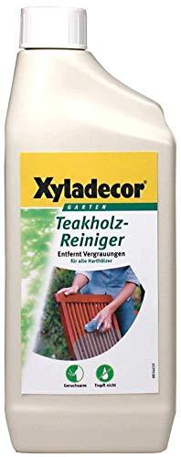 Preisvergleich Produktbild 2 x 750 ml Xyladecor Teakholz Reiniger Teak Holz Reiniger