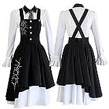 Danganronpa V3: Killing Harmony Costume Kirumi Tojo Maid Dress Uniforms Cosplay Women Girls Anime Halloween Carnival Clothes (M, Tojo Kirumi)