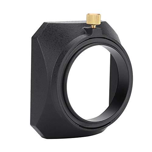 EBTOOLS 46mm quadratische Gegenlichtblende für DV Camcorder Digitalvideokamera Objektivfilter oder...