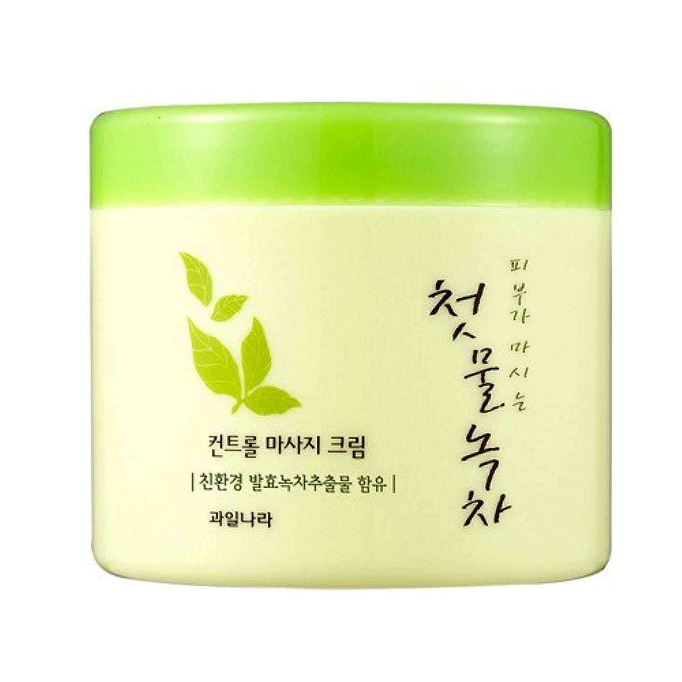 リハーサル満了教師の日welcos[ウェルコス] コントロールマッサージクリーム300ml/First Green Tea Control Massage Cream 300ml [並行輸入品]