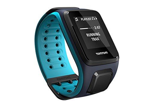 TomTom Sportuhr Runner 2 Musik GPS Uhr, blau, L, 1REM.001.01