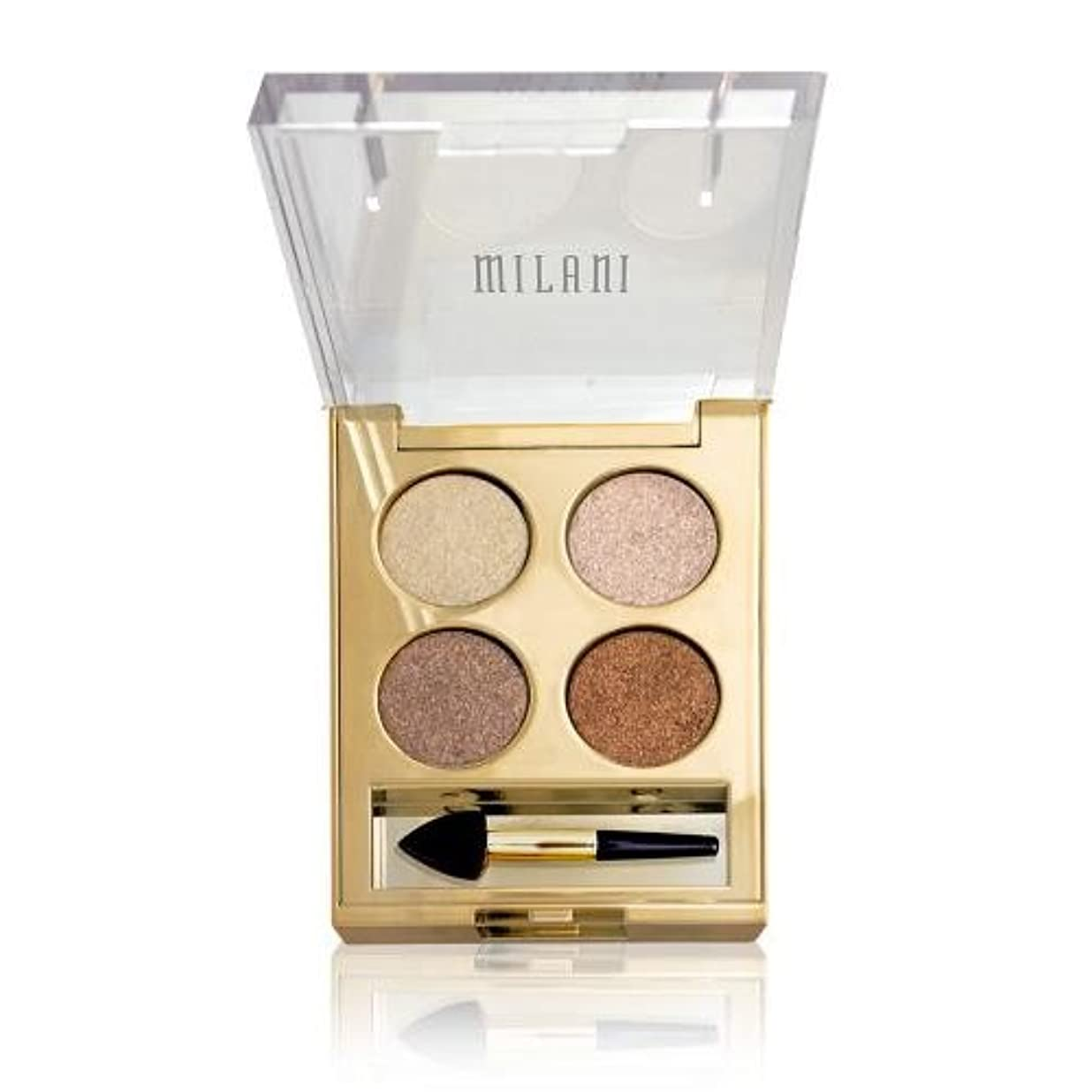 永遠に防水倉庫(3 Pack) MILANI Fierce Foil Eye Shine - Milan (並行輸入品)