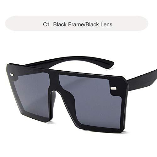 Sunglasses C1Black - Occhiali da sole da donna, occhiali da sole da donna, lenti trasparenti