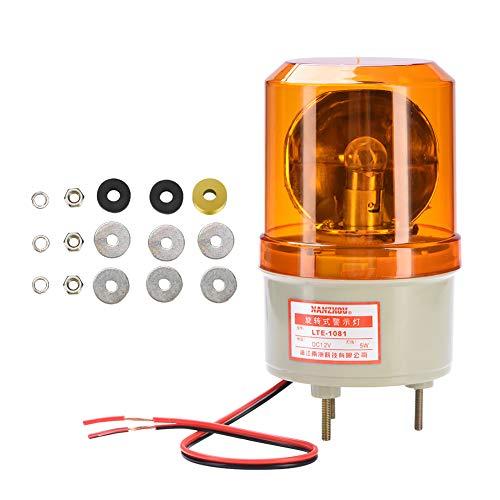 DC 12 V indicator voor batterij-toren signaalindustrie controlelampje rood groen geel batterij waarschuwing industriële lamp licht Geel.