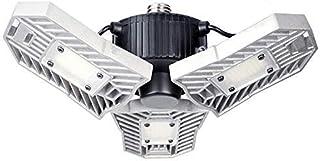 LED Garage Lights, 60W Adjustable Trilights Garage Ceiling Light, High Bay Deformable LED Corn Light Bulbs with 6000LM 6000K for Basement Cellar (CFL HID HPS Metal Halide Lamps 300W-400W Equiv.)
