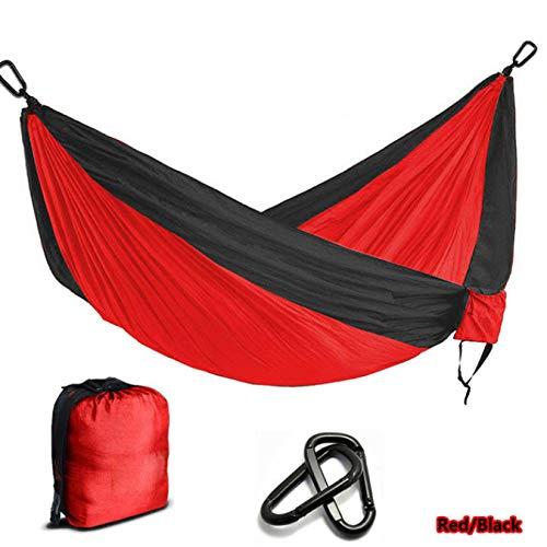 Multi-Color Nylon Parachute Hammock Camping Survival Garden Leisure Hamac Travel Double Person