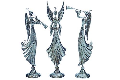 Engel mit Trompete Schalmei Dekofigur Stückpreis