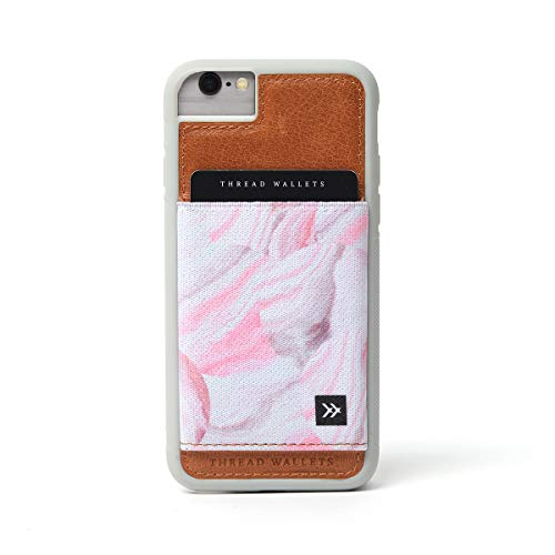 Thread Wallets - Slim Minimalist iPhone Wallet Case - iPhone 6/6s - iPhone 7 - iPhone 8 (Fits All) (Arctic)
