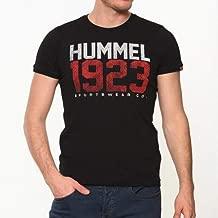 Hummel Erkek HMLDICAN S/S T-Shirt, Siyah, L