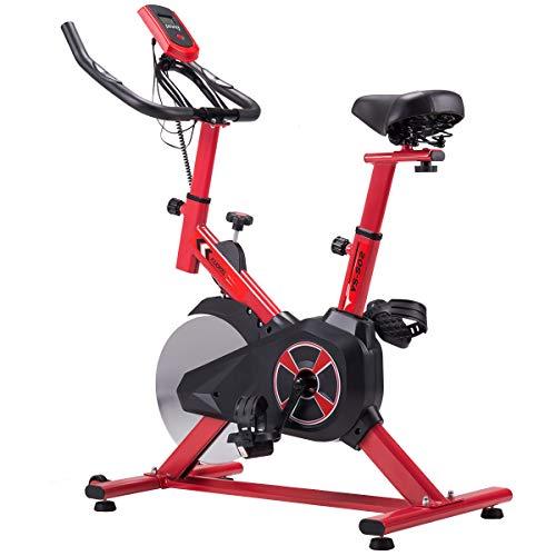 KUOKEL Cyclette Professionale con volano di 13KG, braccioli Imbottiti, a Basso Rumore - Bicicletta con ergometro Fino a 120 kg
