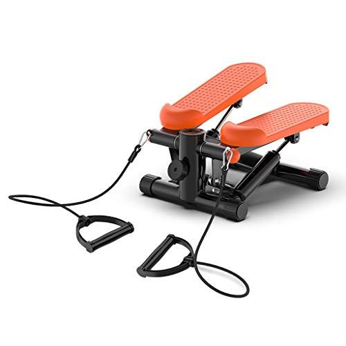 Paso a Paso Inicio Equipo de Ejercicio Mini del Basculador Deportes hidráulico silencioso Escalada máquina 150 kg de Soporte de Cargas (Color : Orange B, Size : 43 * 43 * 20cm)