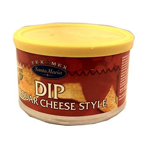 Santa Maria Nacho Chips Dip Cheddar Cheese Style 250g Dose (Cheddar-Käse)