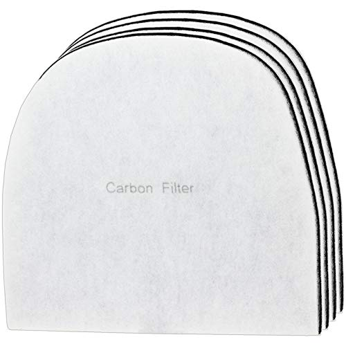 Spares2go Carbon Filter compatible with Ebac 2000 Series 2600e 2600ex 2650e Dehumidifier (Pack of 4)