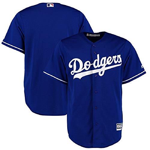 Majestic Los Angeles Doders L.A. Cool Base MLB Trikot Jersey Alternate blau (XL)