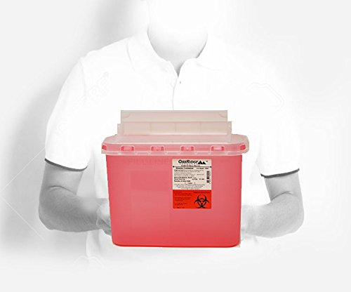 buy  BD 5.4 Qt Stye Sharps Disposal Container (2 Pack) ... Diabetes Care