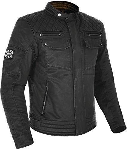 Hardy Wachsjacke schwarz XL - Motorradjacke