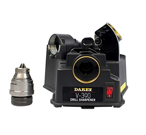 Product Image of the DAREX Drill Bit Sharpener - Model : V390 Capacity: 1/8' to 3/4'