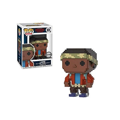 Funko 8-Bit POP! Stranger Things: Lucas Exclusivo