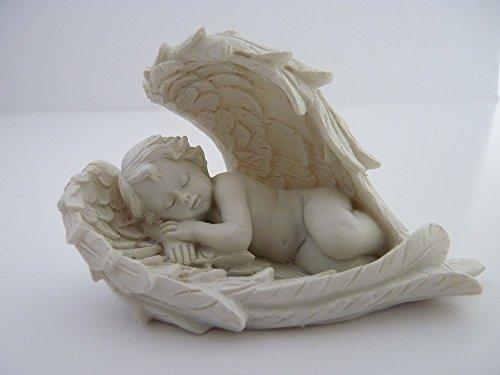 ch/érubin blanc Piquaboo Figurine d/écorative ange