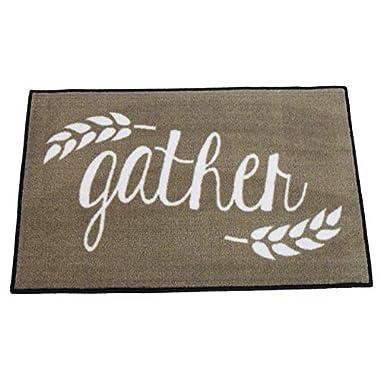 FloorMatShop Gather Farmhouse Style Welcome Kitchen Mat - 2x3