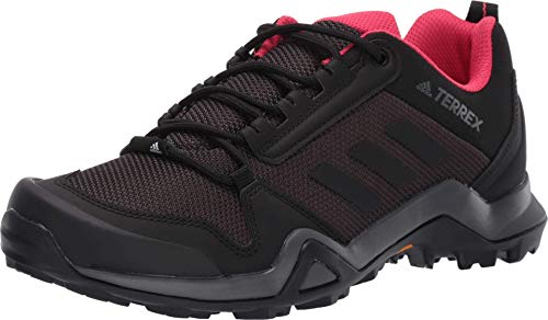 adidas outdoor Terrex Ax3 Womens Hiking Boot Carbon/Black/Active Pink, Size 8.5