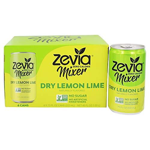 Zevia - Zero Calorie Mixer Dry Lemon Lime - 6Pack