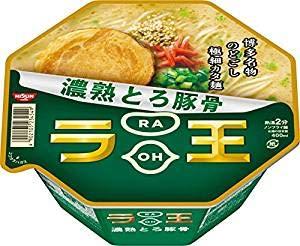 Nissin - Raoh, Japanese Instant Ramen Noodles, Pork Bone Soup, 4oz x 6...