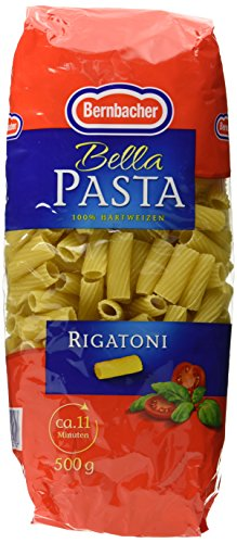Bernbacher Pasta 500g - Rigatoni, 5er Pack (5x 500 g)