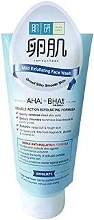 Hada Labo AHA (glycolic Acid)/ BHA (salicylic Acid) Face Wash 100g, Gentle Facial Cleanser and exfoliator