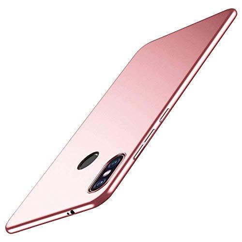 Custodia Xiaomi Mi Mix 2S,Xiaomi Mi Mix 2S Caso Ultra Sottile Cover Protettiva Adatto Shockproof Anti-bsorption Anti-Impronta Digitale Anti-Scratch Hard Plastic Cover per Xiaomi Mi Mix 2S (Oro Rosa)