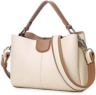 Whiteswanau PU Leather Bag Single Shoulder Bag Lady Bag Simple Fashion Multifunctional Handbag Inclined Shoulder Bag