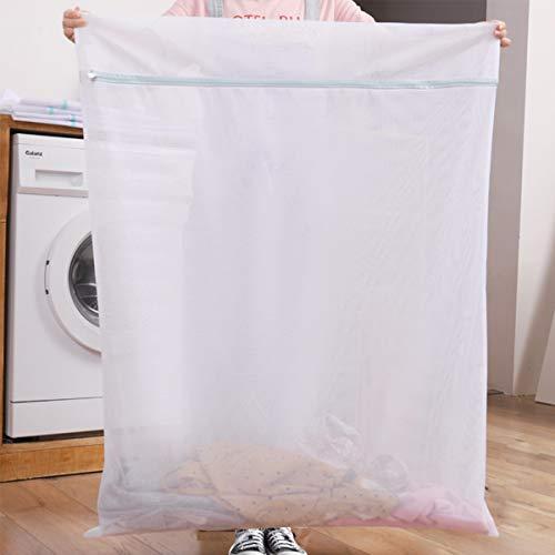 洗濯ネット 大 ランドリーネット 布団 せんたくネット 【90x110cm】 毛布 特大 洗濯機 ネット 細かいメッシュ 角型