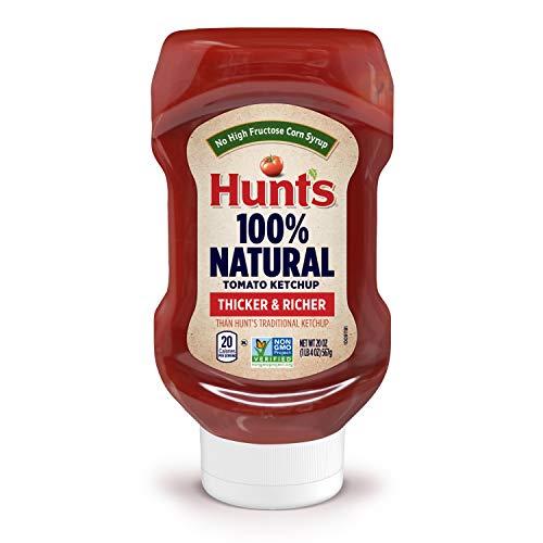 Hunt's Best Ever Tomato Ketchup Bottle, 20 Oz