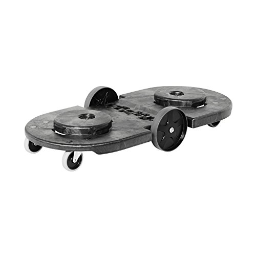 Rubbermaid Commercial FG264600BLA Tandem Brute Trash Dolly