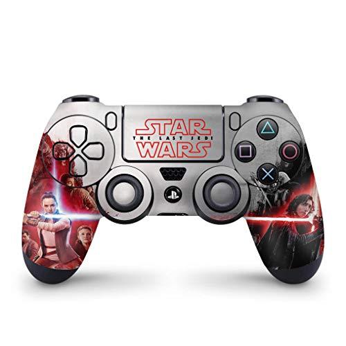 Skin Adesivo para PS4 Controle - Star Wars The Last Jedi