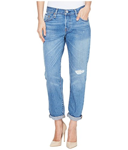 Levi's Women's 501 Customized and Tapered Jean, Edition Blues, 27 (US 4) S