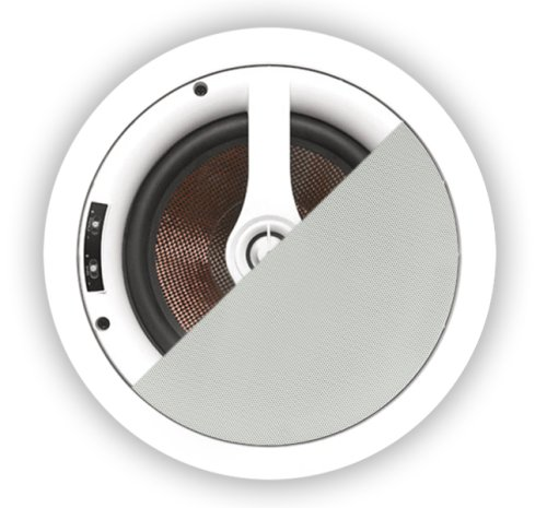 "OSD Audio 6.5"" In-Ceiling Speaker Pair w/ Kevlar Woofer - ICE650"