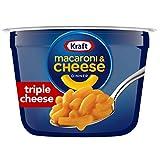 Kraft Easy Mac Triple Cheese Flavor Macaroni and Cheese (10 Microwavable Cups)