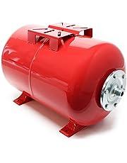 Wiltec Expansievat van 24 l, voor huiswaterpompen en drukverhogingsinstallaties met EPDM membraan voor drinkwater