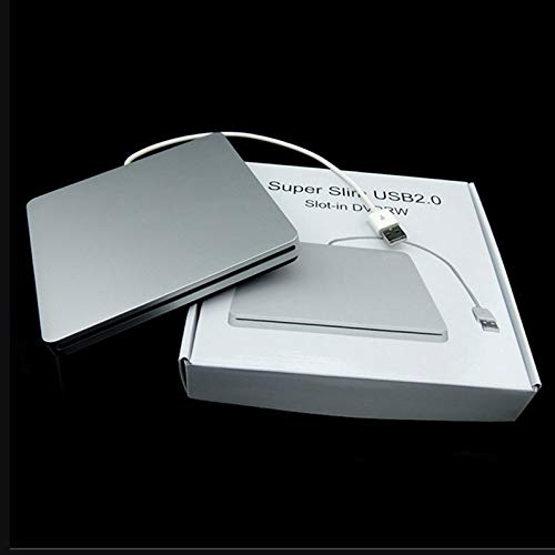 deYukiko Laptop Type Suction Slim USB 2.0 Slot In External Drives Box Enclosure Case