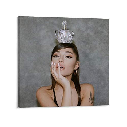 Fotossesión de perfume Ariana Grande Ariana Grande Ariana Grande Ariana Grande Grande Perfume, 1 póster decorativo de pintura para pared, arte de sala de estar, dormitorio, 70 x 70 cm