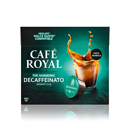 Café Royal Hazelnut 48 Nescafé®* Dolce Gusto®* kompatible Kaffeekapseln, 3er Pack (3 x 16 Kapseln)
