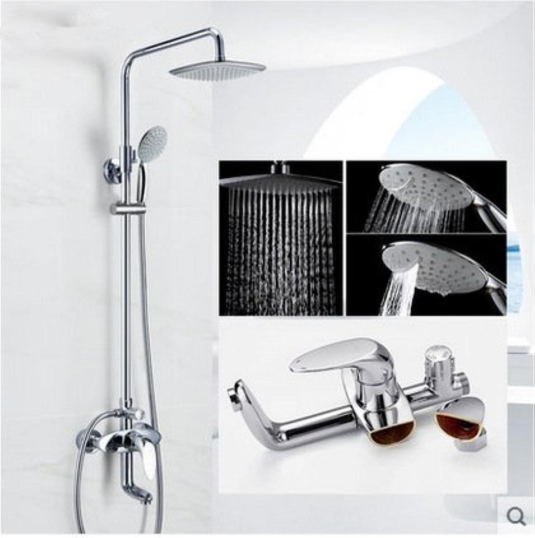 GFEI Shower head shower shower faucet _ suit   copper valve flush pressurized sprinkler