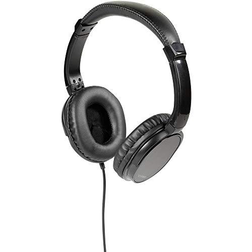Vivanco TV Comfort 70 Schwarz Ohraufliegend Kopfband - Kopfhörer (Ohraufliegend, Kopfband, Verkabelt, 20 - 20000 Hz, 5 m, Schwarz)