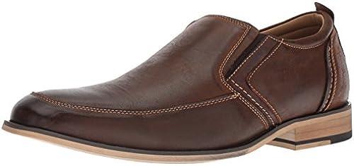 Steve Madden Men& 039;s JERMIN Loafer, Dark tan, 13 M US