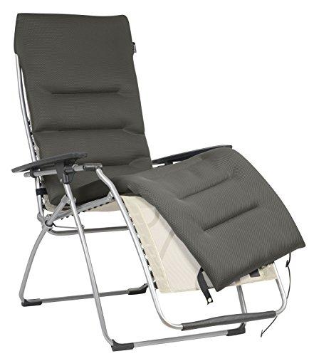 Lafuma gepolsterte Air Comfort Auflage für Relax-Liegestühle, Taupe, LFM2604-7806
