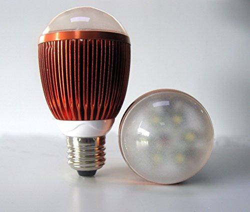 Venso Pflanzenlampe 113mm 230V E27 7W Neutralweiß Glühlampenform 1St.