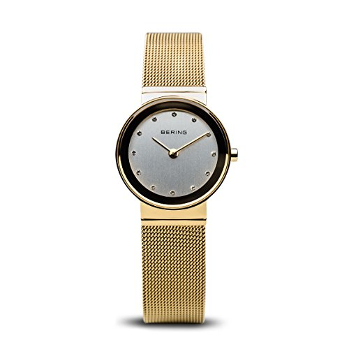 BERING Time | Women's Slim Watch 10126-334 | 26MM Case | Classic Collection | Stainless Steel Strap | Scratch-Resistant Sapphire Crystal | Minimalistic - Designed in Denmark