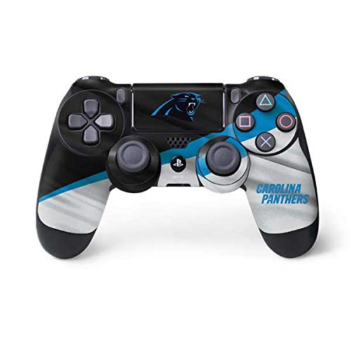 Skinit Decal Gaming Skin for PS4 Controller - Officially Licensed NFL Carolina Panthers Design