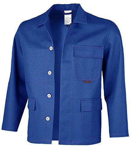 Qualitex - Giacca da lavoro anti-saldatura ROBUST SW, diversi colori Blu grano. 50